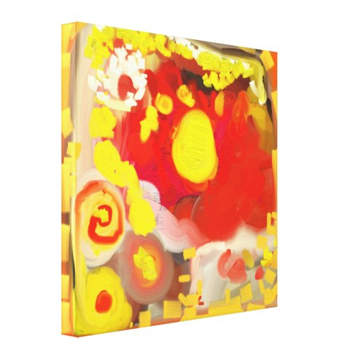 Abstract Oil & Acrylic Painting Gallery Wrap Canvas