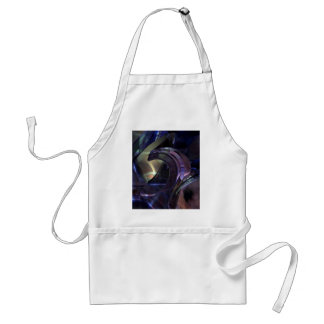 Abstract Oil Architecture Adult Apron
