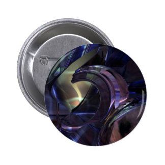 Abstract Oil Architecture Pinback Button