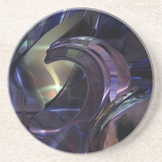 Abstract Oil Architecture Coasters