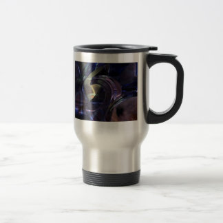 Abstract Oil Architecture Coffee Mug