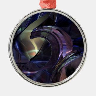 Abstract Oil Architecture Premium Ornament