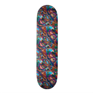 Abstract Oil Painting Inspired Skate Board Deck