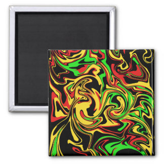 abstract oil painting magnet