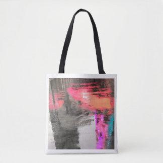 Abstract on bag