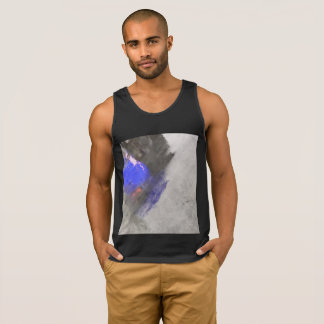 Abstract on Tank Top for the daring male.