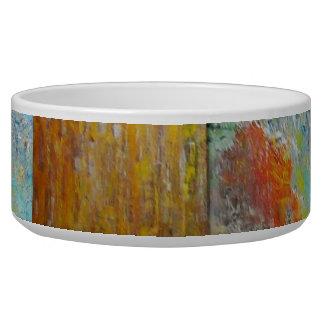 Abstract Opals Pet Food Bowls