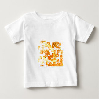 Abstract  orange baby T-Shirt
