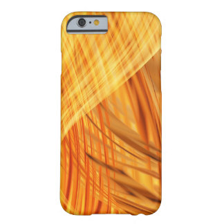 Abstract orange Design Barely There iPhone 6 Case