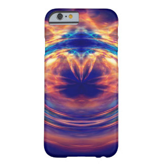 Abstract orange fire iphone 6 case