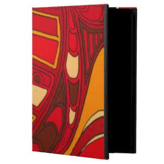 Abstract Orange Panels iPad Air Cover