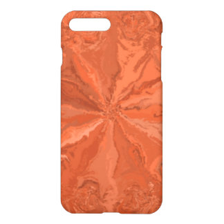Abstract orange pattern iPhone 8 plus/7 plus case