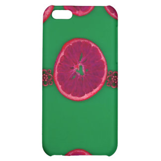 Abstract Orange Slices iPhone 5C Cover