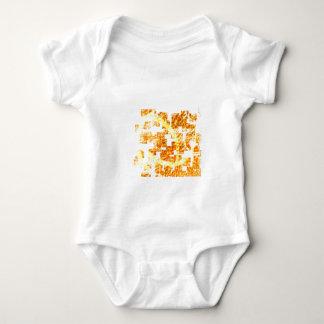 Abstract  orange tee shirts