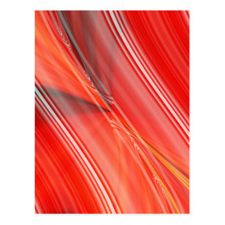 abstract orangered created by Tutti Postcard