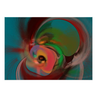 Abstract Original Digital Wall Art