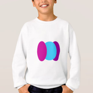 Abstract Oval and Circle Sweatshirt