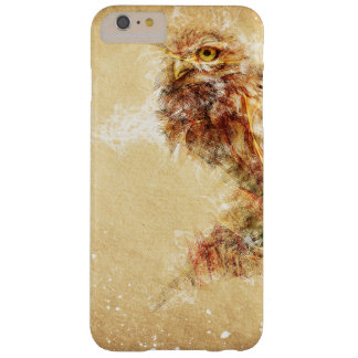 Abstract Owl Bird Design Barely There iPhone 6 Plus Case