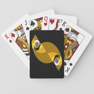 ABSTRACT OWL PLAYING CARDS