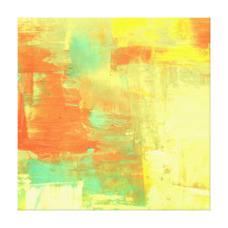 Abstract Paint Art Piece Gallery Wrap Canvas