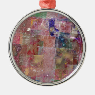 abstract paint background christmas ornament