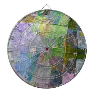 abstract paint background dartboard