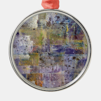 abstract paint background Silver-Colored round decoration