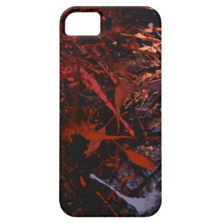 Abstract Paint Drips iPhone 5 Covers