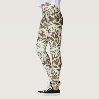 Abstract Paint Leggings