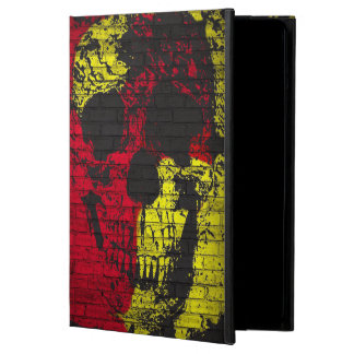 Abstract Paint Splatter Graffiti  Skull iPad Air Cover For iPad Air