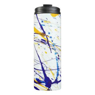 Abstract Paint Splatter Tumbler