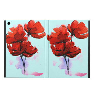 Abstract painted floral background 2 cover for iPad air