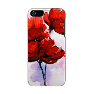 Abstract painted floral background 2 incipio feather® shine iPhone 5 case