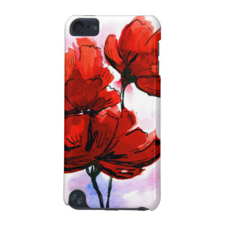 Abstract painted floral background 2 iPod touch 5G case
