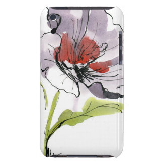 Abstract painted floral background 3 barely there iPod cover