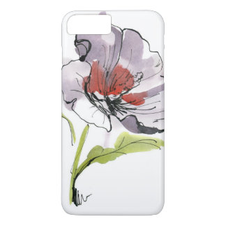 Abstract painted floral background 3 iPhone 8 plus/7 plus case