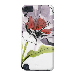 Abstract painted floral background 3 iPod touch 5G cover