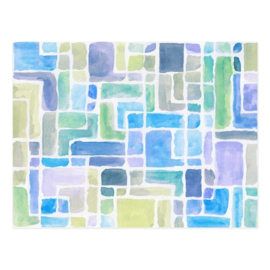 Abstract painted watercolor background. postcard