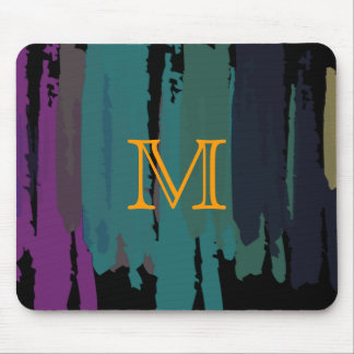 Abstract Painted Watercolor Splatter Art Vintage Mouse Mat