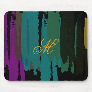Abstract Painted Watercolor Splatter Art Vintage Mouse Pad