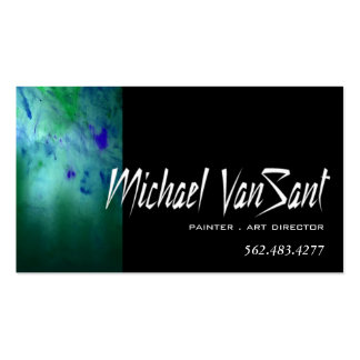 """""""Abstract"""" Painter, Graphic Artist, Art Director Pack Of Standard Business Cards"""