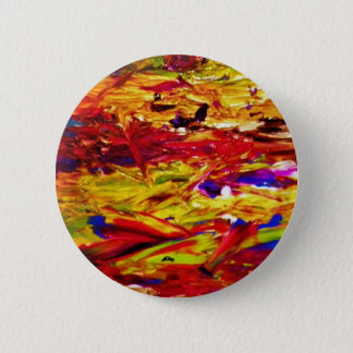 Abstract Painting 6 Cm Round Badge