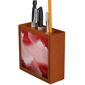 abstract painting background desk organiser