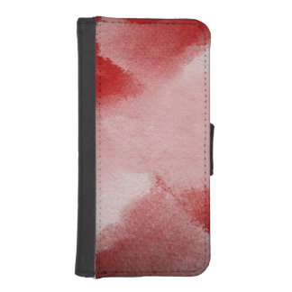abstract painting background iPhone SE/5/5s wallet case