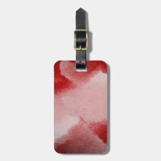 abstract painting background luggage tag