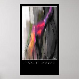 Abstract Painting by Carlos Maraz Art Print