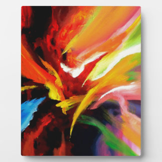 Abstract Painting by Serdar Hizli Plaques