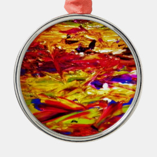 Abstract Painting Christmas Ornament