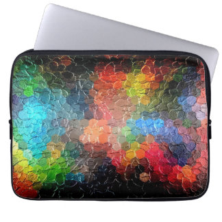 Abstract Painting | Dynamic Colors Computer Sleeves