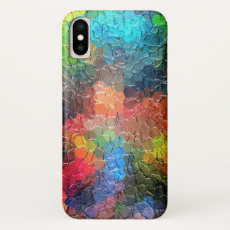 Abstract Painting   Dynamic Colors iPhone X Case